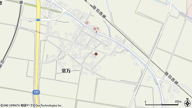 山形県東田川郡庄内町常万常岡43周辺の地図