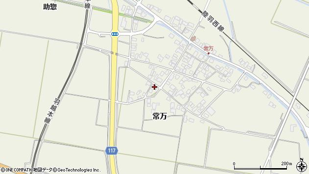 山形県東田川郡庄内町常万常岡7周辺の地図