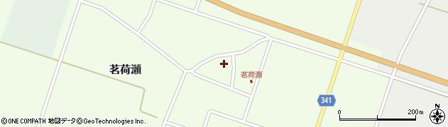 山形県東田川郡庄内町茗荷瀬岡田204周辺の地図