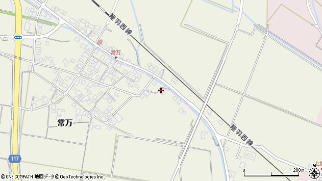 山形県東田川郡庄内町余目新田樋向35周辺の地図