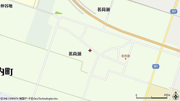 山形県東田川郡庄内町茗荷瀬岡田47周辺の地図