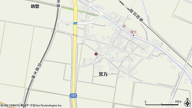 山形県東田川郡庄内町常万常岡6周辺の地図