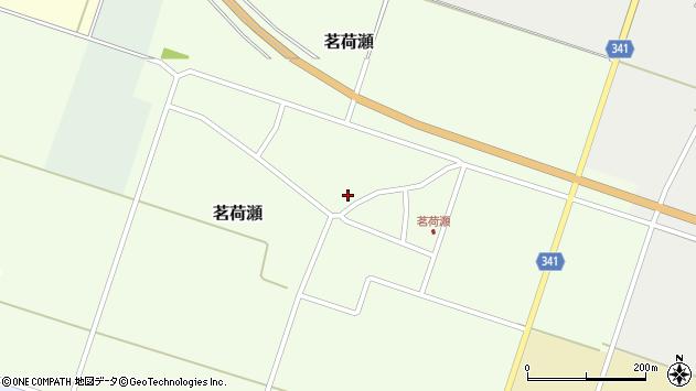 山形県東田川郡庄内町茗荷瀬岡田11周辺の地図