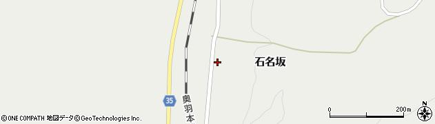 山形県最上郡鮭川村石名坂47周辺の地図
