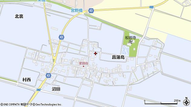 山形県東田川郡庄内町家根合北裏19周辺の地図