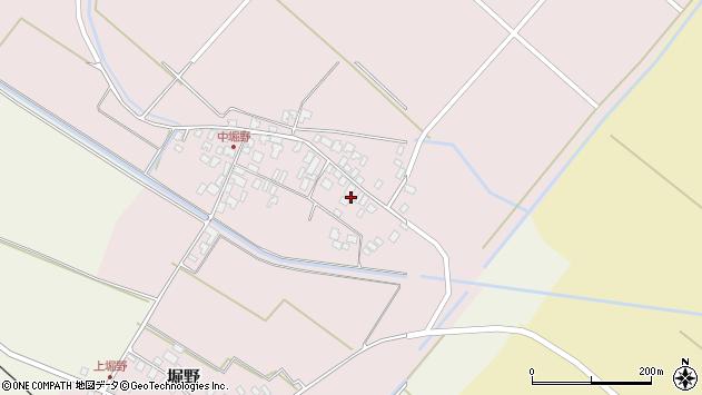 山形県東田川郡庄内町堀野中堀野40周辺の地図