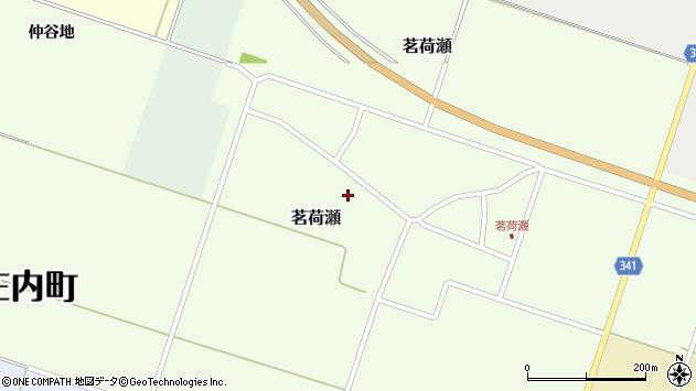 山形県東田川郡庄内町茗荷瀬岡田46周辺の地図
