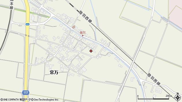 山形県東田川郡庄内町常万常岡125周辺の地図
