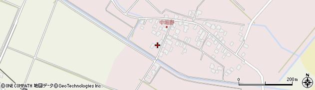 山形県東田川郡庄内町堀野館之内周辺の地図