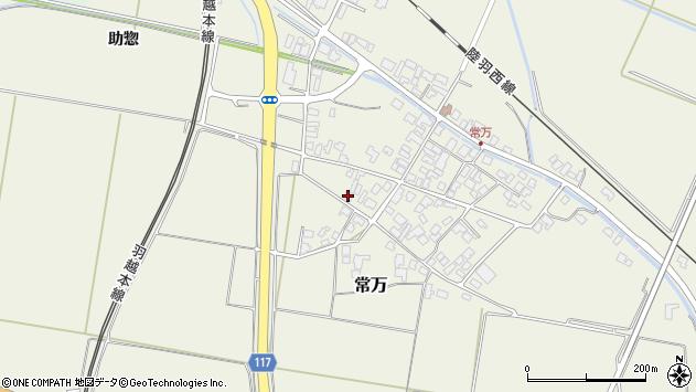 山形県東田川郡庄内町常万屋敷田周辺の地図