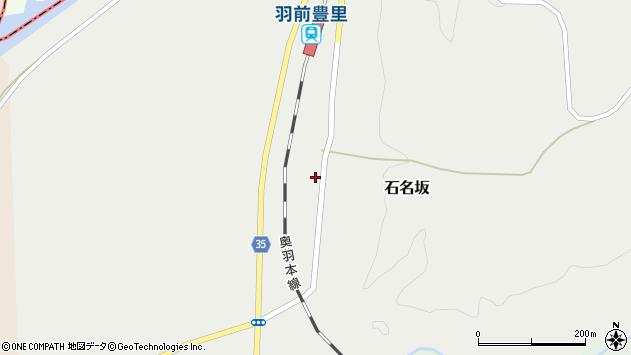 山形県最上郡鮭川村石名坂49周辺の地図