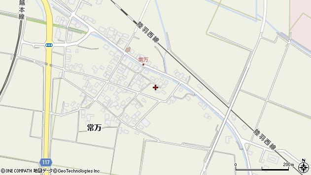 山形県東田川郡庄内町常万常岡122周辺の地図
