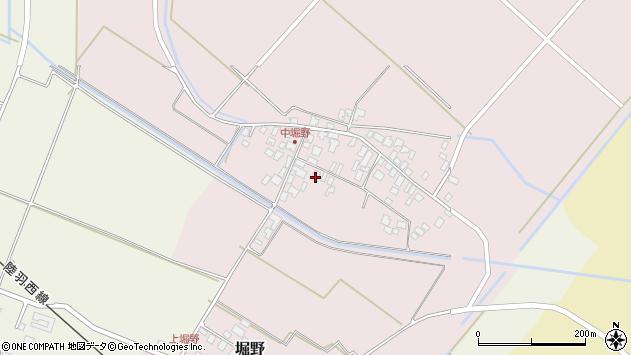 山形県東田川郡庄内町堀野中堀野70周辺の地図