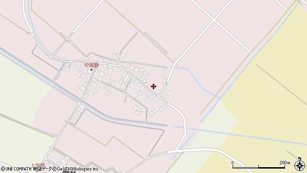 山形県東田川郡庄内町堀野中堀野34周辺の地図
