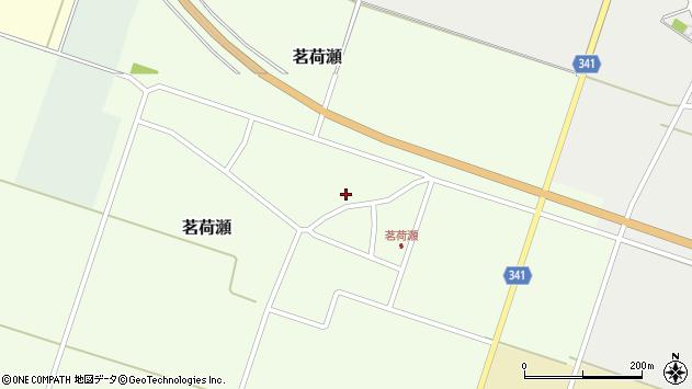 山形県東田川郡庄内町茗荷瀬岡田8周辺の地図