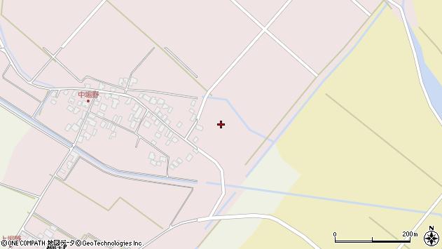 山形県東田川郡庄内町堀野中堀野8周辺の地図