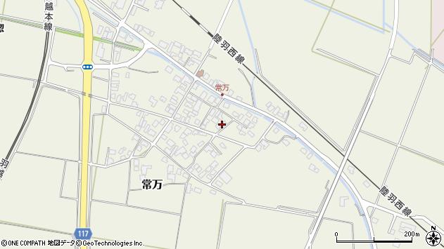 山形県東田川郡庄内町常万常岡121周辺の地図