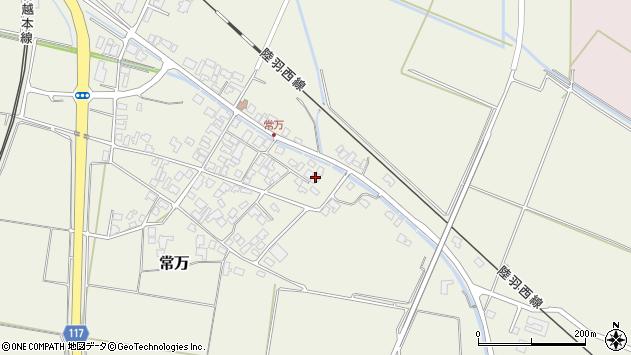 山形県東田川郡庄内町常万常岡127周辺の地図