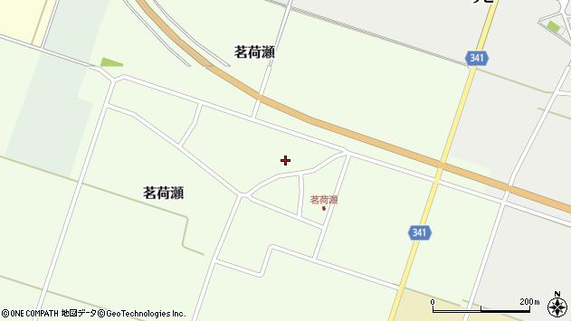 山形県東田川郡庄内町茗荷瀬岡田7周辺の地図