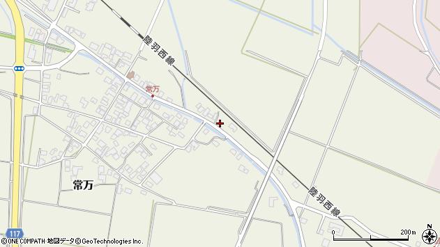 山形県東田川郡庄内町常万東大乗向16周辺の地図