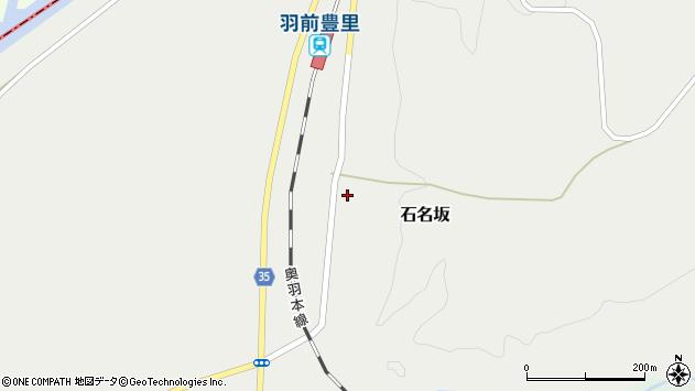 山形県最上郡鮭川村石名坂30周辺の地図
