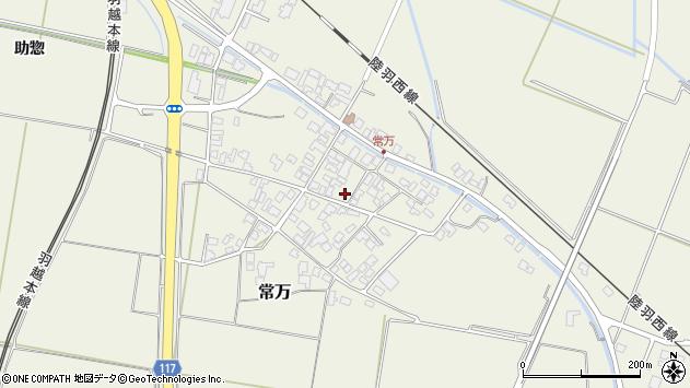 山形県東田川郡庄内町常万常岡118周辺の地図