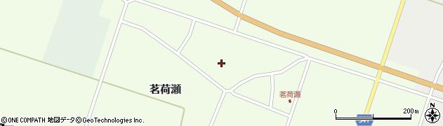 山形県東田川郡庄内町茗荷瀬岡田14周辺の地図