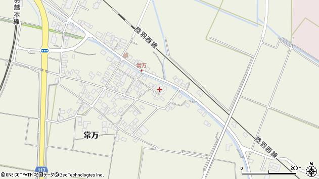 山形県東田川郡庄内町常万常岡94周辺の地図