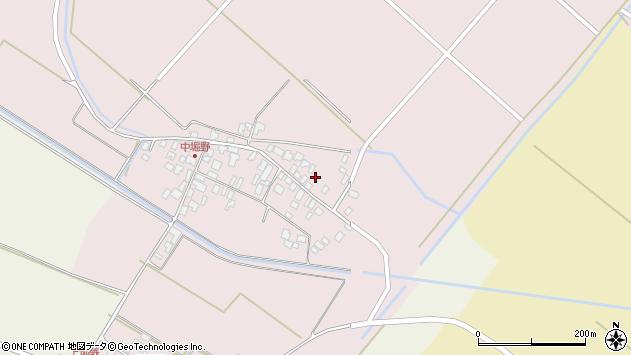 山形県東田川郡庄内町堀野中堀野43周辺の地図