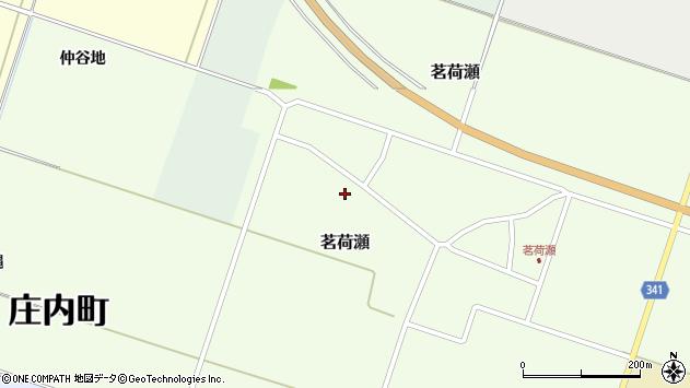 山形県東田川郡庄内町茗荷瀬岡田38周辺の地図
