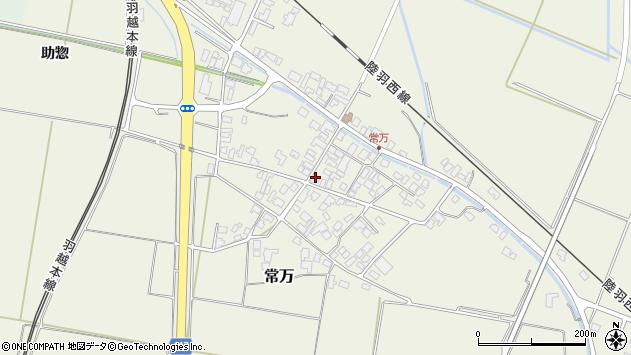 山形県東田川郡庄内町常万常岡110周辺の地図
