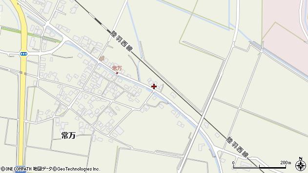 山形県東田川郡庄内町常万東大乗向18周辺の地図