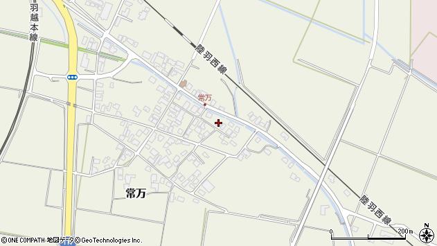 山形県東田川郡庄内町常万常岡95周辺の地図