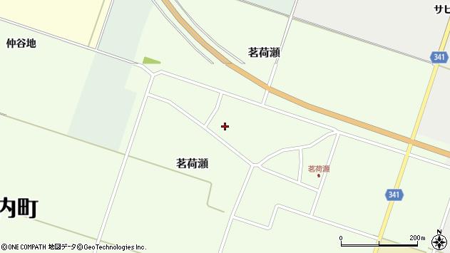 山形県東田川郡庄内町茗荷瀬岡田16周辺の地図