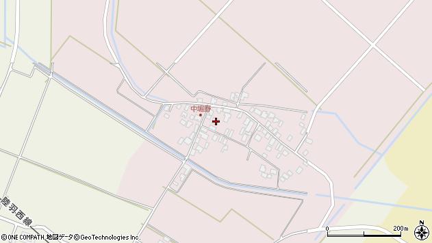 山形県東田川郡庄内町堀野中堀野75周辺の地図