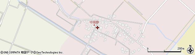 山形県東田川郡庄内町堀野中堀野73周辺の地図