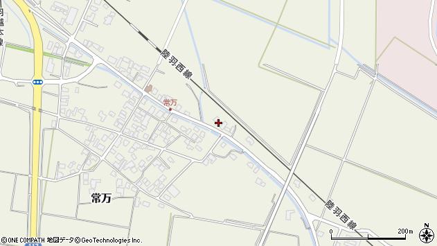 山形県東田川郡庄内町常万東大乗向19周辺の地図