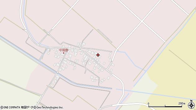 山形県東田川郡庄内町堀野中堀野44周辺の地図