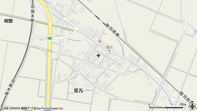 山形県東田川郡庄内町常万常岡106周辺の地図