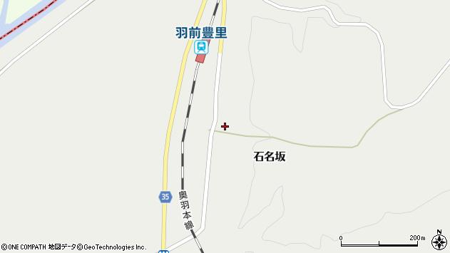山形県最上郡鮭川村石名坂24周辺の地図