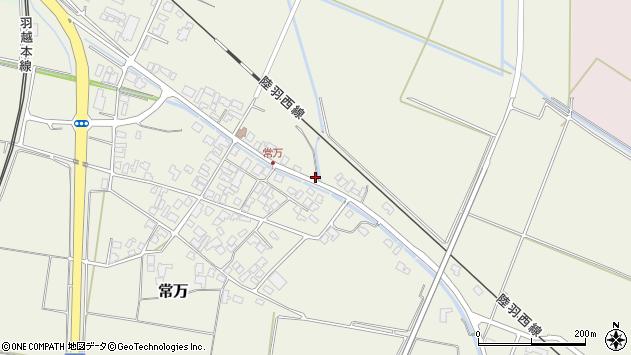 山形県東田川郡庄内町常万常岡93周辺の地図