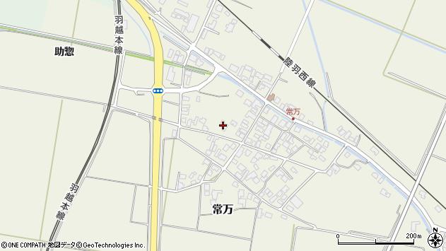 山形県東田川郡庄内町常万常岡74周辺の地図