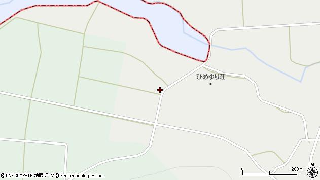 山形県最上郡鮭川村石名坂941周辺の地図