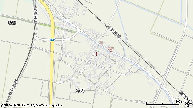 山形県東田川郡庄内町常万常岡105周辺の地図