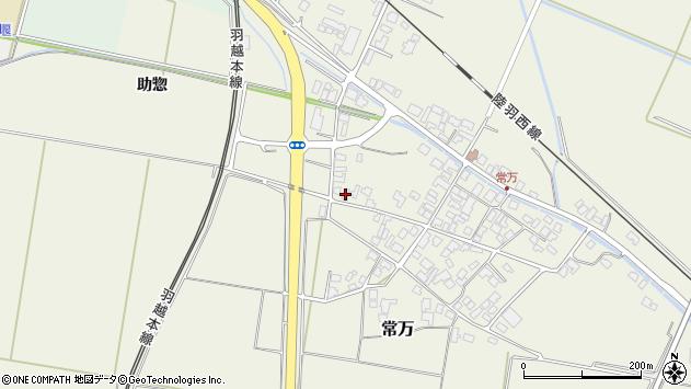 山形県東田川郡庄内町常万常岡69周辺の地図