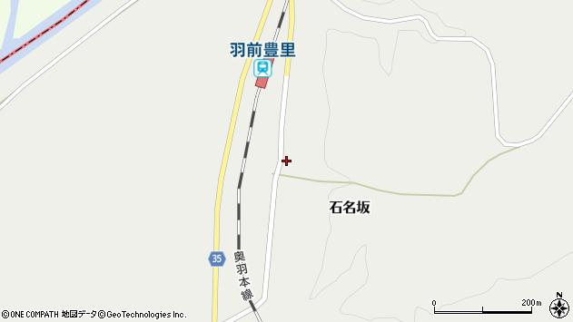山形県最上郡鮭川村石名坂53周辺の地図