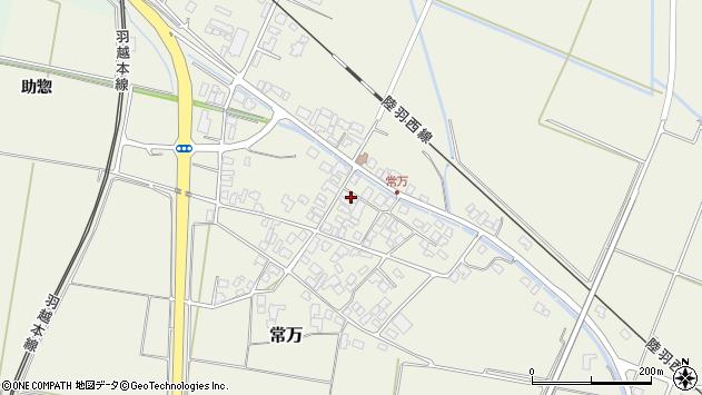 山形県東田川郡庄内町常万常岡103周辺の地図
