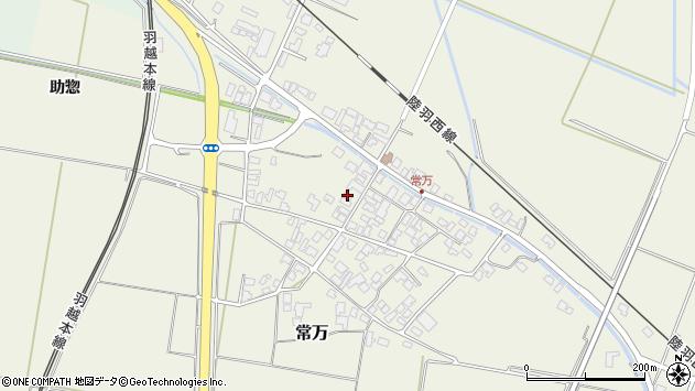 山形県東田川郡庄内町常万常岡78周辺の地図