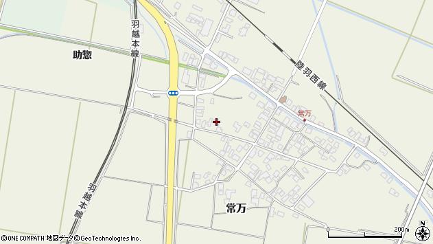 山形県東田川郡庄内町常万常岡70周辺の地図