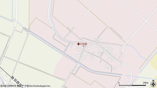 山形県東田川郡庄内町堀野中堀野88周辺の地図